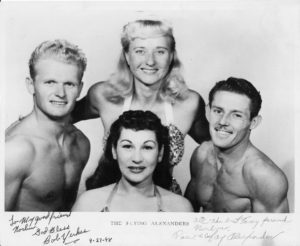Fay Alexander and the original Flying Alexanders