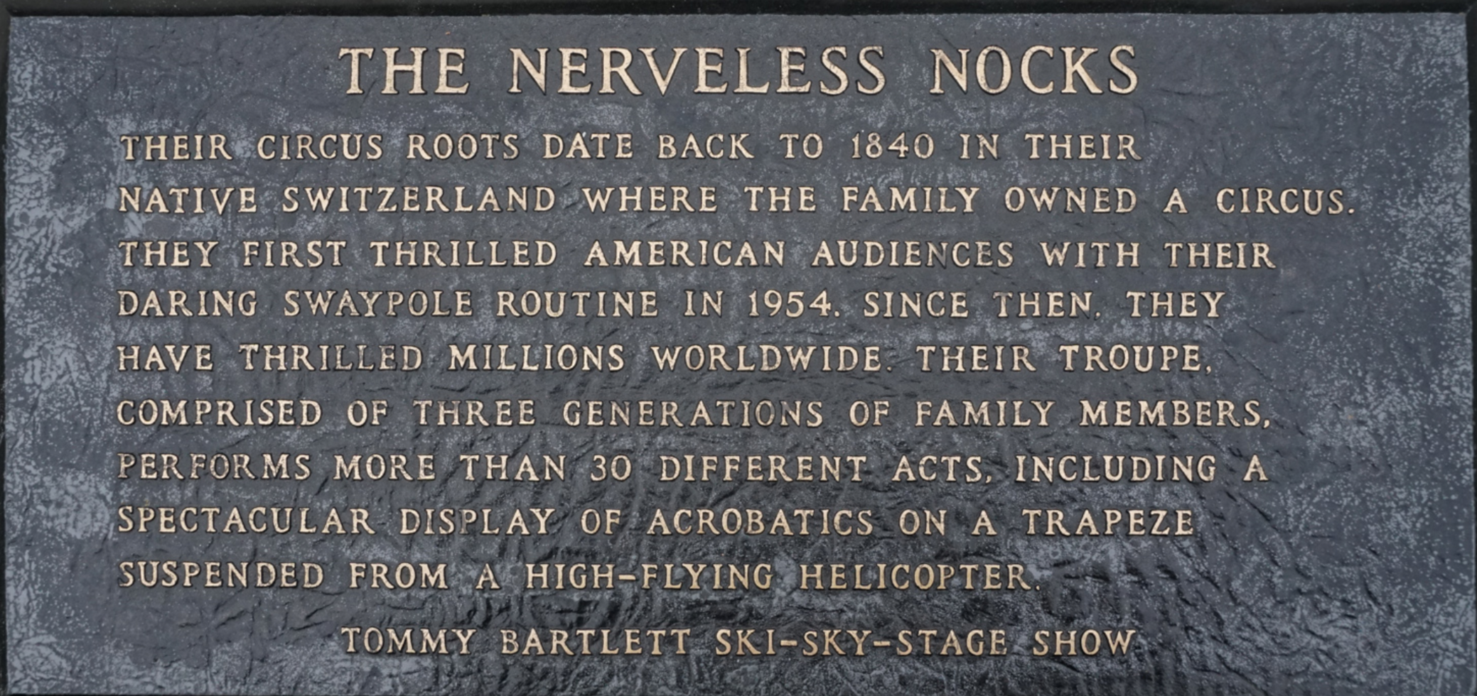 nerveless nocks