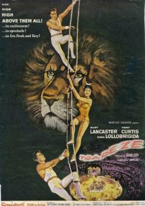 Fay Alexander Trapeze Movie promotion poster