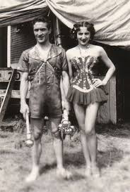 Lottie and Francis Brunn Circus Ring of Fame Inductees